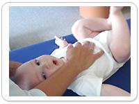 Craniosacrale Therapie für kinder